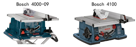 Superieur Bosch 4000 Table Saw Vs 4100