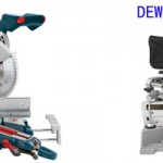 Bosch 4310 vs Dewalt dw717 Review