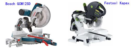 Bosch GCM12sd vs Festool Kapex