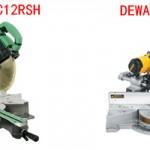 Hitachi c12rsh vs dewalt dw718 Review