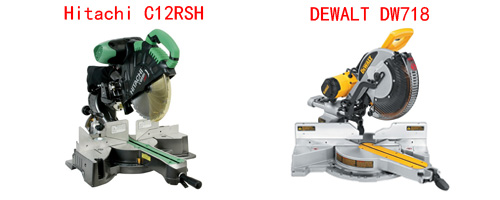 Hitachi c12rsh vs dewalt dw718