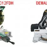 Hitachi c12fdh vs Dewalt dw715 Review