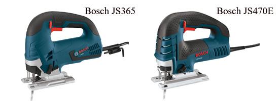 Bosch JS365 vs JS470E