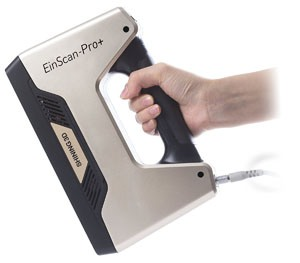 2018 Newest EinScan Pro+ Enhanced Handheld 3D Scanner
